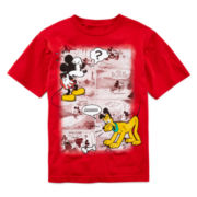 Disney Collection Mickey Mouse Graphic Tee – Boys 2-10