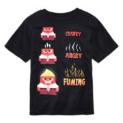 Disney Collection Inside Out Anger Graphic Tee – Boys 2-10