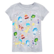 Disney Collection Inside Out Graphic Tee – Girls 2-10