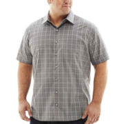 Van Heusen® Short-Sleeve No-Iron Woven Shirt-Big & Tall