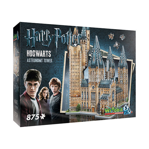Wrebbit Harry Potter Collection - Hogwarts - Astronomy Tower 3D Puzzle: 875 Pcs