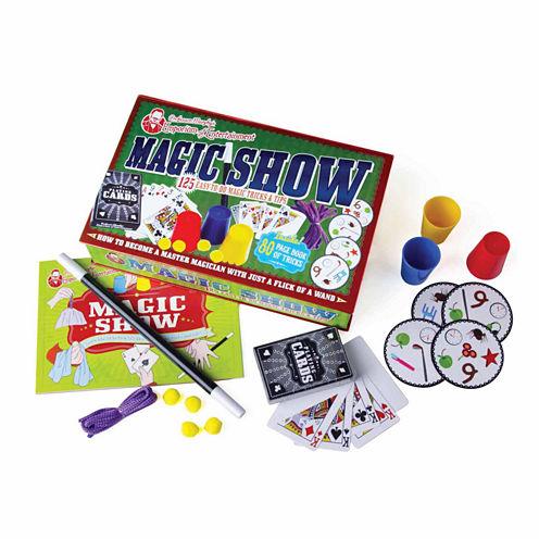 House of Marbles Professor Murphy's Emporium of Entertainment - Magic Show 125 Trick Box Set