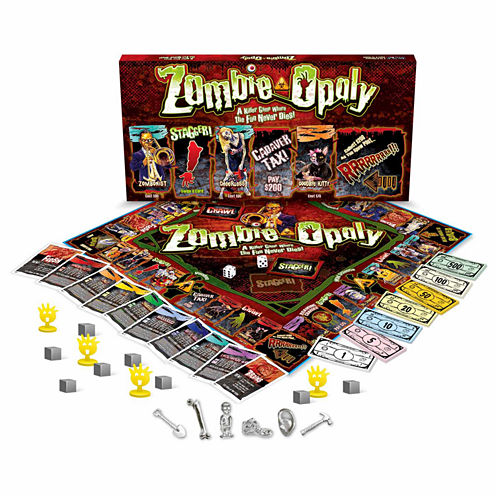 Late For The Sky Zombie-opoly Game
