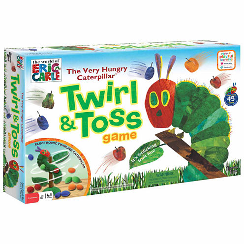 University Games The Very Hungry Caterpillar Twirl& Toss Game