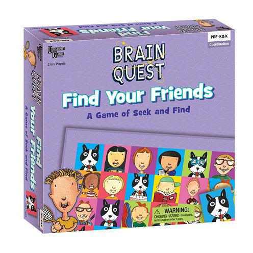 University Games Brain Quest - Find Your Friends