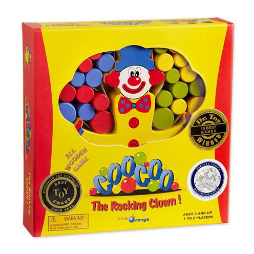Blue Orange Games CooCoo The Rocking Clown Game