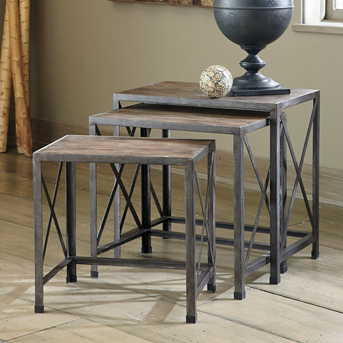 Signature Design by Ashley® Vennilux 3-pc. Nesting Tables