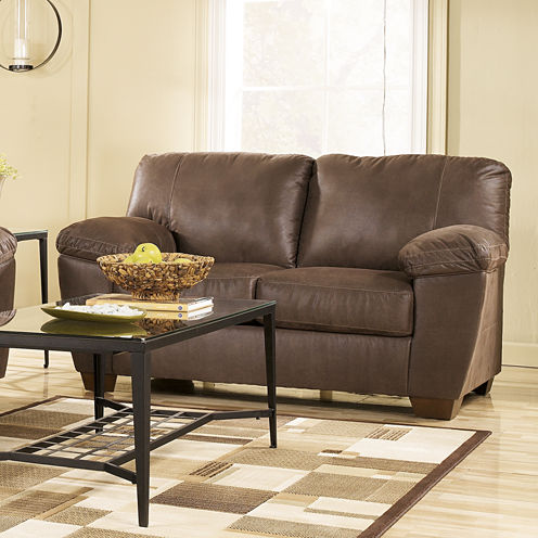 Signature Design By Ashley® Amazon Upholstered Loveseat