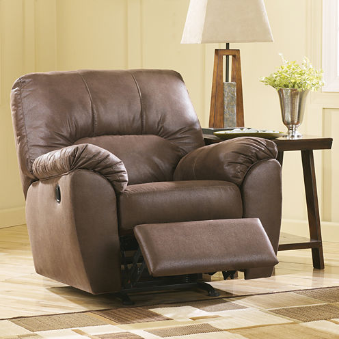 Signature Design By Ashley® Amazon Fabric Recliner