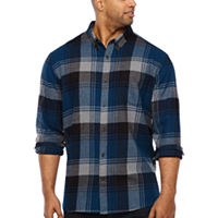 The Foundry Big & Tall Supply Co. Plaid Button-Front Shirt Deals
