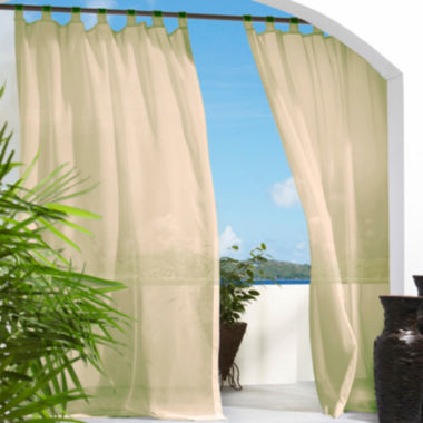 jcpenney.com | Escape Hook and Loop Tab-Top Outdoor Curtain Panel