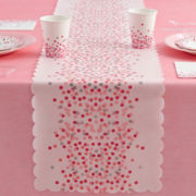 MarthaCelebrations™ Table Runner – Cotton Candy