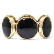 Monet® Jet Black Stretch Bracelet