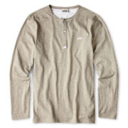 Vans® Long-Sleeve Henley Top - Boys 8-20