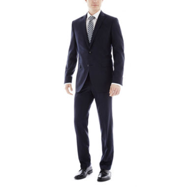 jcpenney.com | JF J. Ferrar Navy Variegated Stripe Slim-Fit Suit Separates