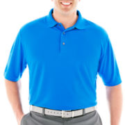 PGA TOUR® Solid Double-Knit Polo-Big & Tall