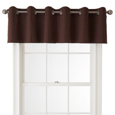jcpenney.com | JCPenney Home™ Jenner Cotton Grommet-Top Insert Valance