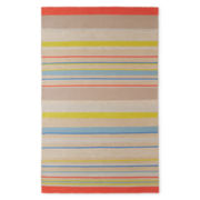 Design by Conran Cotton/Jute Striped Rectangular Rugs