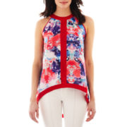 nicole by Nicole Miller® High-Low Tank Top