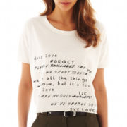 MNG by Mango® Short-Sleeve Screen Tee
