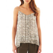 MNG by Mango® Snakeprint Cami Blouse