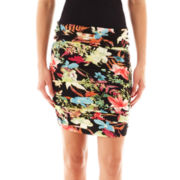 i jeans by Buffalo Ruched Mini Skirt