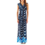 i jeans by Buffalo Short-Sleeve Empire-Waist Maxi Dress