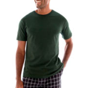 Stafford® Cotton Lightweight Color Crewneck T-Shirt