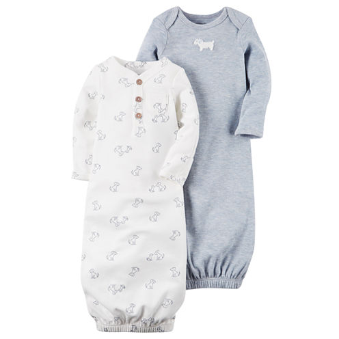 Carter's Boys Long Sleeve 2-pk. Gown - Baby