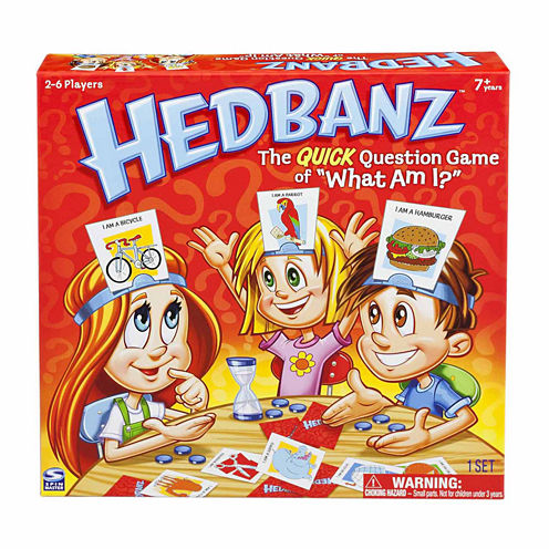 Spin Master Games Hedbanz