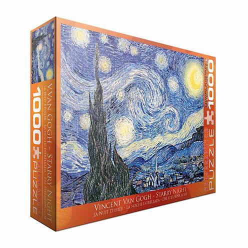 Eurographics Inc Vincent Van Gogh - Starry Night:1000 Pcs