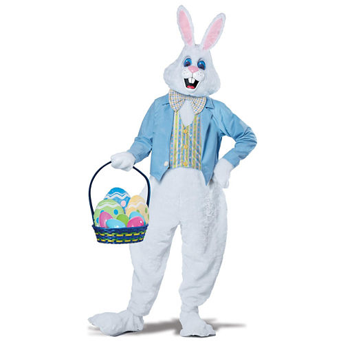 Deluxe Adult Easter Bunny Costume - L XL (42-46)