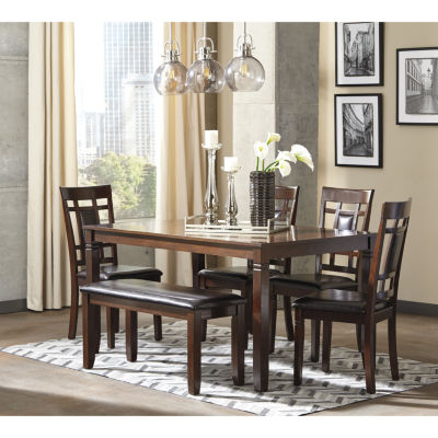 Signature Design By Ashley® Bennox 6 Piece Dining Set