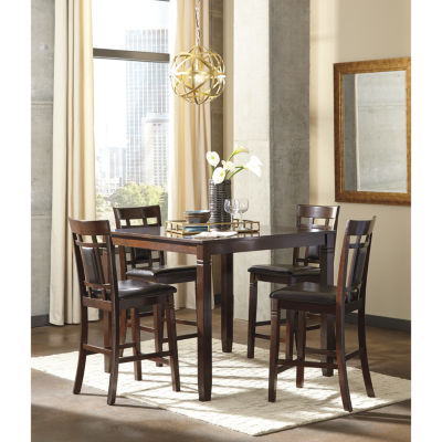 Signature Design By Ashley® Bennox 5 Piece Counter Height Dining Set