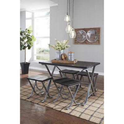 Signature Design By Ashley® Elistree 5 Piece Dining Set