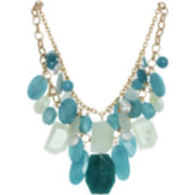 ROX by Alexa Blue & Green Gemstone Drama Necklace