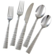 Cambridge® Vertex Satin 45-pc. Flatware Set