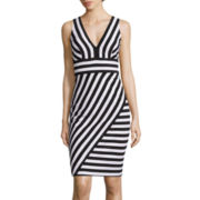 Bisou Bisou® Sleeveless Stripe Dress