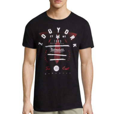 jcpenney.com | Zoo York® Shadow Dancer Short-Sleeve Cotton Tee