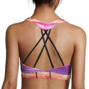 City Streets® Strappy Sports Bra