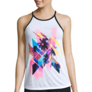 City Streets® High-Neck Swing Tank Top - Juniors