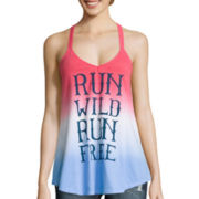 Dip Dye T-Back Tank Top