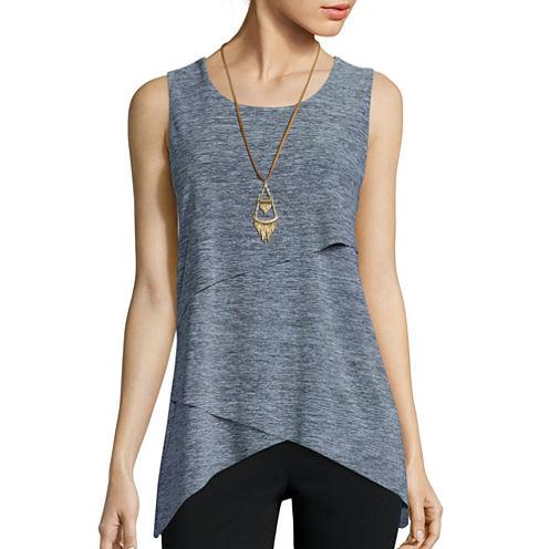 Alyx® Malone Sleeveless Assymmetrical Knit Top