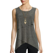 Alyx® Malone Sleeveless Assymmetrical Knit Top