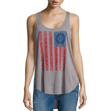 jcpenney.com | I 'Heart' Ronson® Screen Tank Top