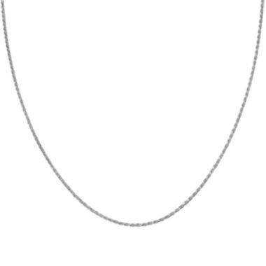 jcpenney.com | Silver Reflections™ Sterling Silver Rope Chain Necklace