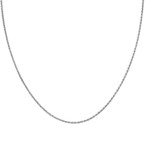 Silver Reflections™ Sterling Silver Rope Chain Necklace