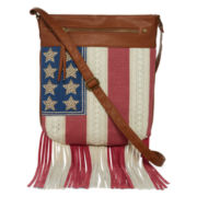 Arizona Americana Fringe Crossbody Bag