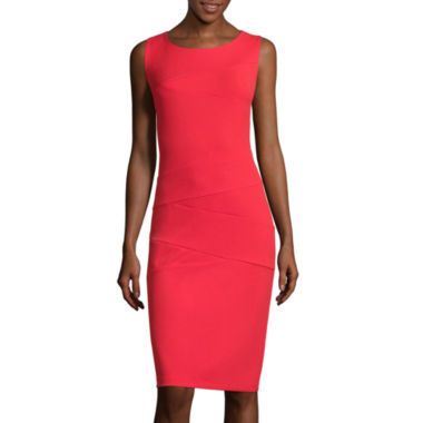jcpenney.com | RN Studio by Ronni Nicole Sleeveless Splice Sheath Dress