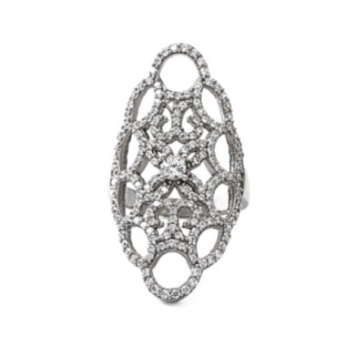jcpenney.com | Cubic Zirconia Sterling Silver Webbed Ring